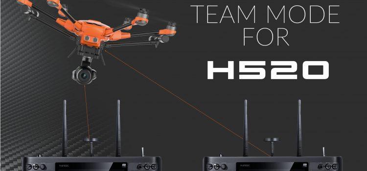 Novità – Team mode funzione per Yuneec H520